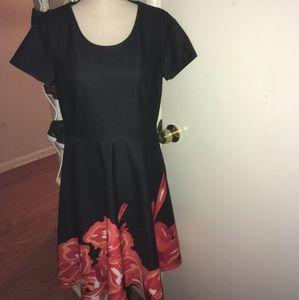 NWT beautiful Midnight Velvet dress
